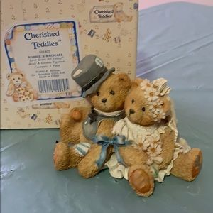 Other - Cherished Teddies-Robbie & Rachael
